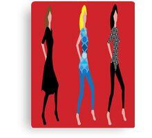Freaky Divas Canvas Print