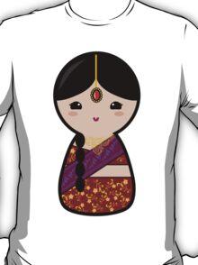 Kokeshi - Hindu Girl T-Shirt