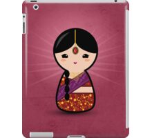 Kokeshi - Hindu Girl iPad Case/Skin