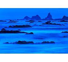Twilight at Rialto Beach Photographic Print
