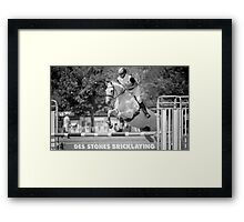 Confidently Focused Framed Print