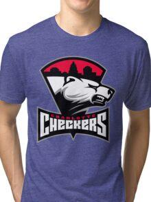 Charlotte Checkers Tri-blend T-Shirt