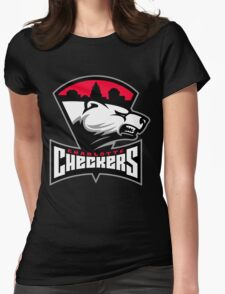 Charlotte Checkers Womens Fitted T-Shirt