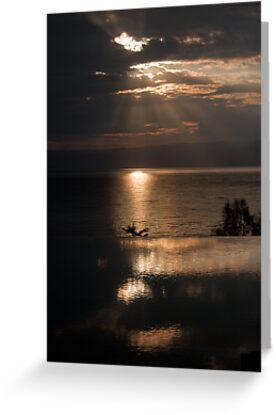 Cloud Break on the Dead Sea by Ren Provo