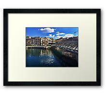 Bormla bridge - Chiara Conte Framed Print