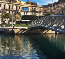 Bormla bridge - Chiara Conte Sticker