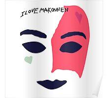 iLoveMakonnen EP - Mask Poster