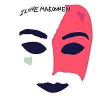 iLoveMakonnen EP - Mask Photographic Print