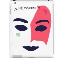 iLoveMakonnen EP - Mask iPad Case/Skin