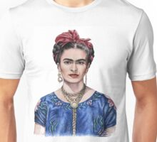 Hommage to Frida Kahlo Unisex T-Shirt