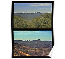 The Warrumbungles ... before and after Poster