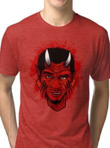 Red Sinister Tri-blend T-Shirt
