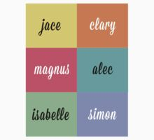 The Mortal Instruments: Names by dictionaried