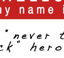The Infernal Devices: Will's Name (Ver 1) Sticker