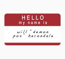 The Infernal Devices: Will's Name (Ver 2) by dictionaried
