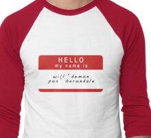 The Infernal Devices: Will's Name (Ver 2) Men's Baseball ¾ T-Shirt