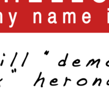 The Infernal Devices: Will's Name (Ver 2) Sticker