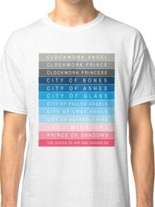 Cassandra Clare: Titles Classic T-Shirt