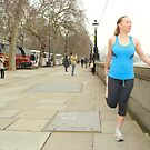 Post Run Stretch 3 by rsangsterkelly