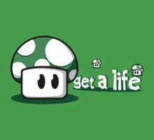 get a life, 1up mushroom by 10naruto23