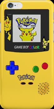 Pikachu Yellow Gameboy Edition by Earlofjosh