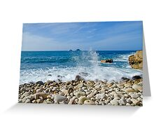 Cot Valley Porth Nanven Greeting Card