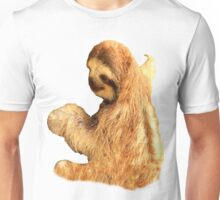Sloth Holding On Unisex T-Shirt