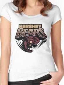 Hershey Bears Women's Fitted Scoop T-Shirt