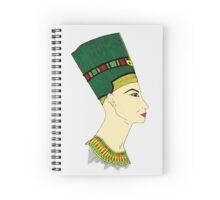 Queen Nefertiti Spiral Notebook