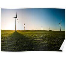 Wadlow Wind Farm  Poster