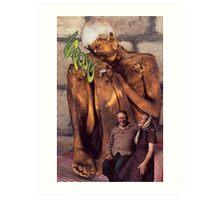 M Blackwell - SPONG Art Print