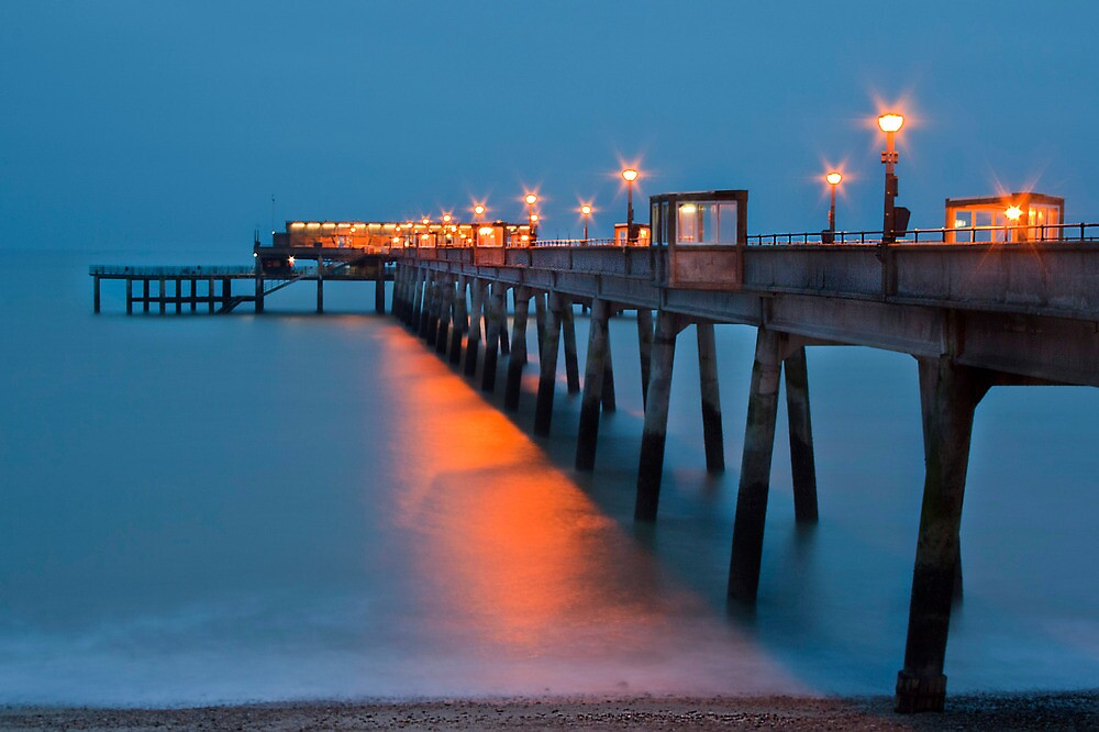 Deal Pier In The Evening by Dave Godden