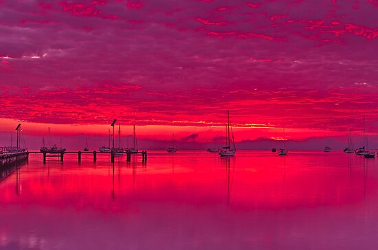 """Corio Twilight Reflections"" by Phil Thomson IPA"