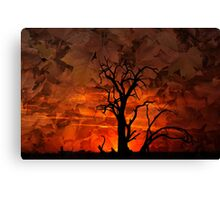 When the Wind Blows Canvas Print