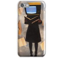 When history is erased, hysteria begins iPhone Case/Skin