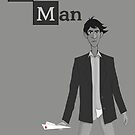 Breaking Bad/Paperman T-Shirt by Chris Wilson