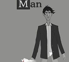 Breaking Bad/Paperman T-Shirt by Chris Wilson