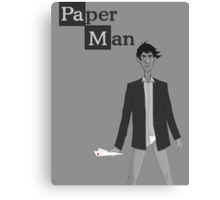 Breaking Bad/Paperman T-Shirt Canvas Print