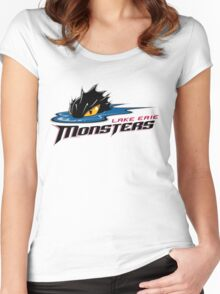 Lake Erie Monsters Women's Fitted Scoop T-Shirt