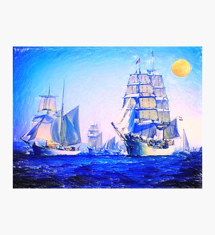 blue voyage to serenity Photographic Print