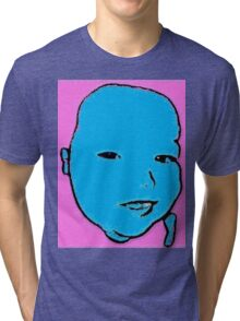 Boy Blue Tri-blend T-Shirt
