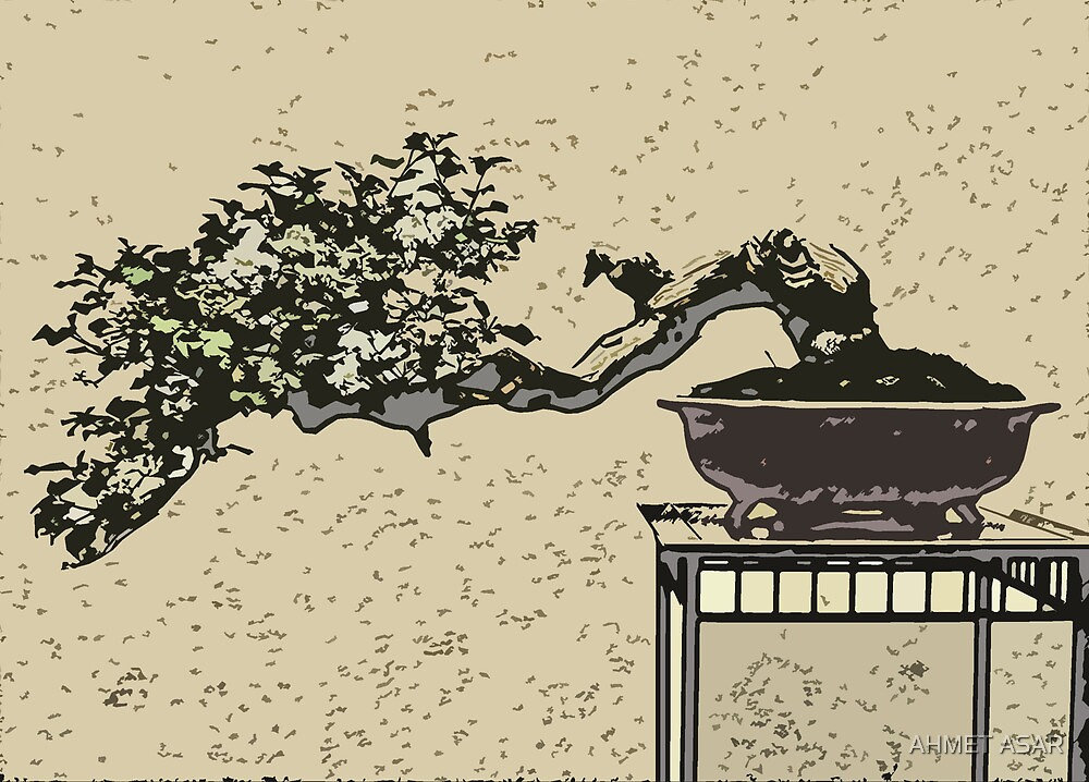 bonsai in art form 2 by Adam Asar