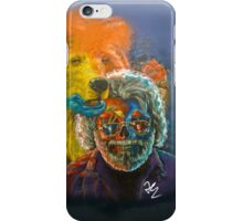 Grateful Dead - Jerry Garcia, psychedelic mushroom steal your face case  iPhone Case/Skin