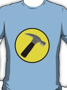 Captain Hammer Logo  T-Shirt