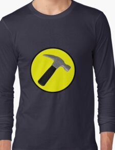 Captain Hammer Logo  Long Sleeve T-Shirt