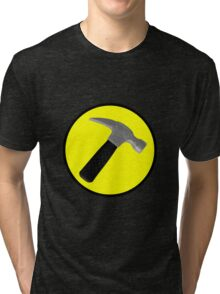 Captain Hammer Logo  Tri-blend T-Shirt