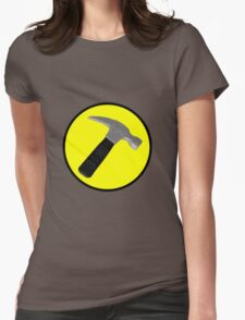 Captain Hammer Logo  Womens Fitted T-Shirt