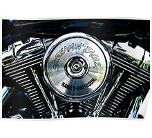Screaming Eagle. Harley engine #2 Poster