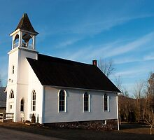 PA Country Church by Penny Rinker