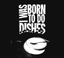 The Queers - Born To Do Dishes (white print) Unisex T-Shirt